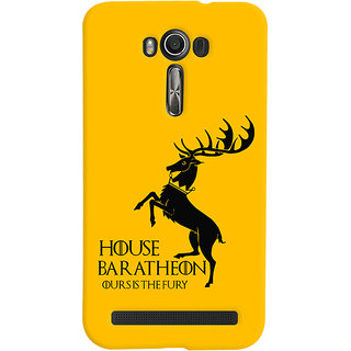 Oyehoye Asus Zenfone 2 Laser ZE601KL Mobile Phone Back Cover With Game Of Thrones - Durable Matte Finish Hard Plastic Slim Case