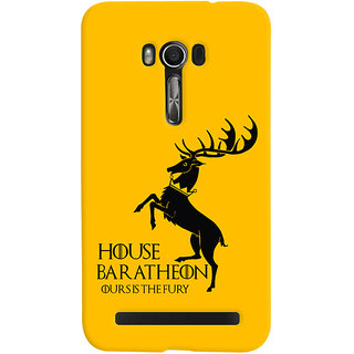 Oyehoye Asus Zenfone Go Mobile Phone Back Cover With Game Of Thrones - Durable Matte Finish Hard Plastic Slim Case