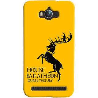 Oyehoye Asus Zenfone Max ZC550KL Mobile Phone Back Cover With Game Of Thrones - Durable Matte Finish Hard Plastic Slim Case