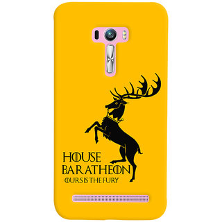 Oyehoye Asus Zenfone Selfie ZD551KL Mobile Phone Back Cover With Game Of Thrones - Durable Matte Finish Hard Plastic Slim Case
