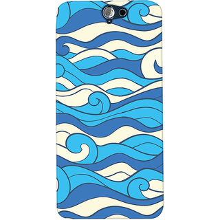 Oyehoye HTC One A9 Mobile Phone Back Cover With Pattern Style - Durable Matte Finish Hard Plastic Slim Case