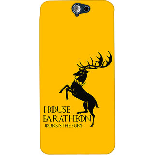 Oyehoye HTC One A9 Mobile Phone Back Cover With Game Of Thrones - Durable Matte Finish Hard Plastic Slim Case
