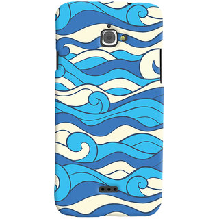 Oyehoye Infocus M350 Mobile Phone Back Cover With Pattern Style - Durable Matte Finish Hard Plastic Slim Case