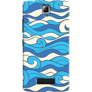 Oyehoye Lenovo A2010 Mobile Phone Back Cover With Pattern Style - Durable Matte Finish Hard Plastic Slim Case