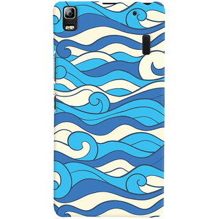 Oyehoye Lenovo K3 Note / A7000 Turbo Mobile Phone Back Cover With Pattern Style - Durable Matte Finish Hard Plastic Slim Case