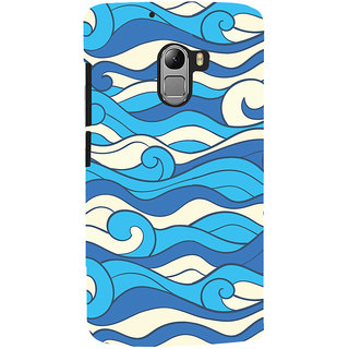 Oyehoye Lenovo K4 Note Mobile Phone Back Cover With Pattern Style - Durable Matte Finish Hard Plastic Slim Case