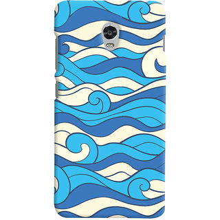 Oyehoye Lenovo Vibe P1 Mobile Phone Back Cover With Pattern Style - Durable Matte Finish Hard Plastic Slim Case