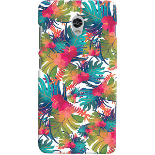Oyehoye Lenovo Vibe P1 Turbo Mobile Phone Back Cover With Colourful Abstract Art - Durable Matte Finish Hard Plastic Slim Case