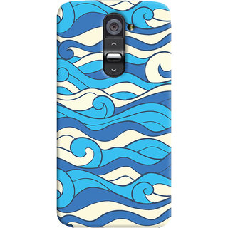 Oyehoye LG G2 / Optimus G2 Mobile Phone Back Cover With Pattern Style - Durable Matte Finish Hard Plastic Slim Case