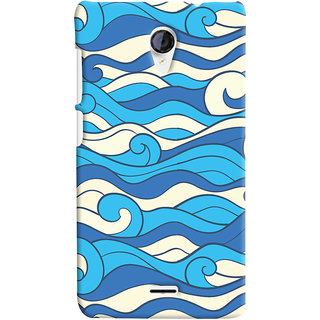 Oyehoye Micromax Unite 2 A106 Mobile Phone Back Cover With Pattern Style - Durable Matte Finish Hard Plastic Slim Case