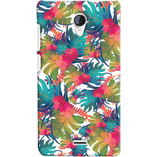 Oyehoye Micromax Unite 2 A106 Mobile Phone Back Cover With Colourful Abstract Art - Durable Matte Finish Hard Plastic Slim Case
