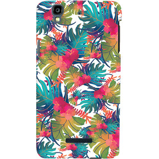 Oyehoye Micromax Yureka Plus Mobile Phone Back Cover With Colourful Abstract Art - Durable Matte Finish Hard Plastic Slim Case