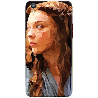 Oyehoye Oppo F1 Plus Mobile Phone Back Cover With Low Poly Art - Durable Matte Finish Hard Plastic Slim Case