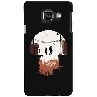 Oyehoye Samsung Galaxy A3 A310 (2016 Edition) Mobile Phone Back Cover With Travellers Quirky - Durable Matte Finish Hard Plastic Slim Case