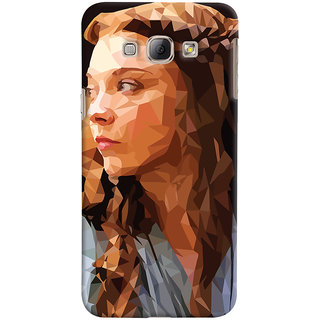 Oyehoye Samsung Galaxy A8 (2015) Mobile Phone Back Cover With Low Poly Art - Durable Matte Finish Hard Plastic Slim Case