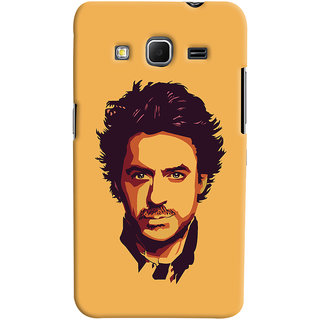 Oyehoye Samsung Galaxy Core Prime G360 Mobile Phone Back Cover With Robert Downey Jr. - Durable Matte Finish Hard Plastic Slim Case
