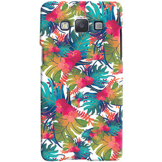 Oyehoye Samsung Galaxy E5 Mobile Phone Back Cover With Colourful Abstract Art - Durable Matte Finish Hard Plastic Slim Case