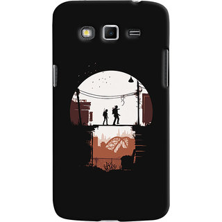Oyehoye Samsung Galaxy Grand 2 G7106 Mobile Phone Back Cover With Travellers Quirky - Durable Matte Finish Hard Plastic Slim Case