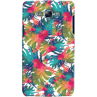 Oyehoye Samsung Galaxy J5 Mobile Phone Back Cover With Colourful Abstract Art - Durable Matte Finish Hard Plastic Slim Case