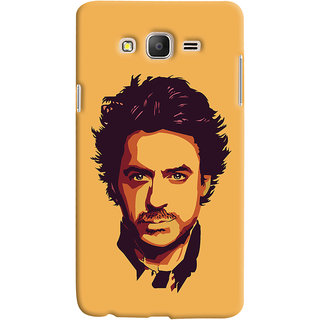 Oyehoye Samsung Galaxy ON7 Mobile Phone Back Cover With Robert Downey Jr. - Durable Matte Finish Hard Plastic Slim Case
