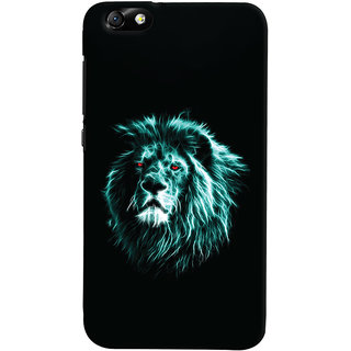Oyehoye Huawei Honor 4X / Dual Sim / Glory Play Mobile Phone Back Cover With Lion Animal Art - Durable Matte Finish Hard Plastic Slim Case