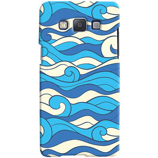 Oyehoye Samsung Galaxy A7 (2015) Mobile Phone Back Cover With Pattern Style - Durable Matte Finish Hard Plastic Slim Case