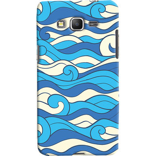 Oyehoye Samsung Galaxy Grand Prime Mobile Phone Back Cover With Pattern Style - Durable Matte Finish Hard Plastic Slim Case