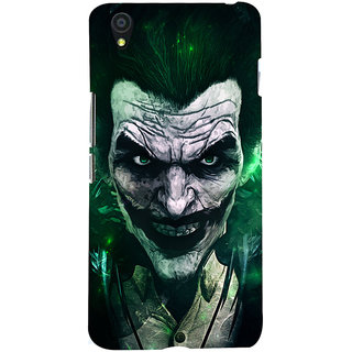 Oyehoye OnePlus X Mobile Phone Back Cover With Joker - Durable Matte Finish Hard Plastic Slim Case