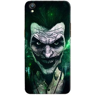 Oyehoye Oppo F1 Plus Mobile Phone Back Cover With Joker - Durable Matte Finish Hard Plastic Slim Case
