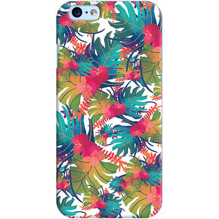 Oyehoye Apple iPhone 6S Mobile Phone Back Cover With Colourful Abstract Art - Durable Matte Finish Hard Plastic Slim Case