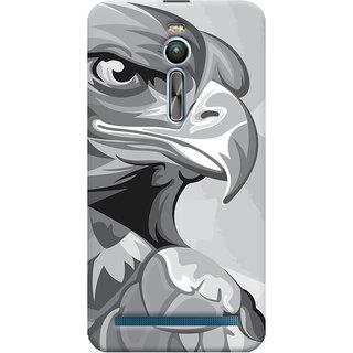 Oyehoye Asus Zenfone 2 ZE550ML Mobile Phone Back Cover With Animal Modern Art - Durable Matte Finish Hard Plastic Slim Case
