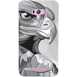 Oyehoye Asus Zenfone Selfie ZD551KL Mobile Phone Back Cover With Animal Modern Art - Durable Matte Finish Hard Plastic Slim Case