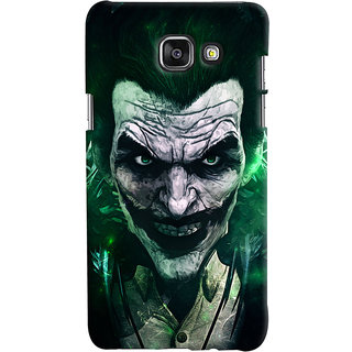 Oyehoye Samsung Galaxy A7 A710 (2016 Edition) Mobile Phone Back Cover With Joker - Durable Matte Finish Hard Plastic Slim Case