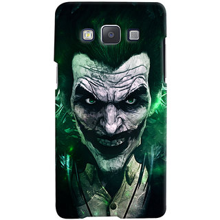 Oyehoye Samsung Galaxy A7 (2015) Mobile Phone Back Cover With Joker - Durable Matte Finish Hard Plastic Slim Case