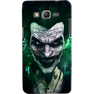 Oyehoye Samsung Galaxy Grand Prime Mobile Phone Back Cover With Joker - Durable Matte Finish Hard Plastic Slim Case