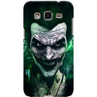 Oyehoye Samsung Galaxy J2 Mobile Phone Back Cover With Joker - Durable Matte Finish Hard Plastic Slim Case