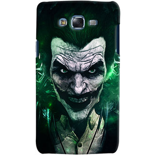 Oyehoye Samsung Galaxy J5 Mobile Phone Back Cover With Joker - Durable Matte Finish Hard Plastic Slim Case