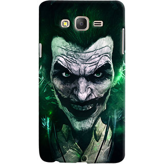 Oyehoye Samsung Galaxy ON5 Mobile Phone Back Cover With Joker - Durable Matte Finish Hard Plastic Slim Case