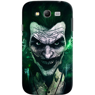 Oyehoye Samsung Galaxy Grand Neo / NEO GT Mobile Phone Back Cover With Joker - Durable Matte Finish Hard Plastic Slim Case