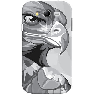 Oyehoye Samsung Galaxy Grand Neo / NEO GT Mobile Phone Back Cover With Animal Modern Art - Durable Matte Finish Hard Plastic Slim Case