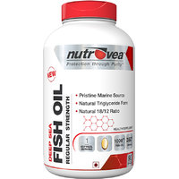 Nutrovea Deep Sea Fish Oil Regular Strength(EPA  DHA) 90 Softgels