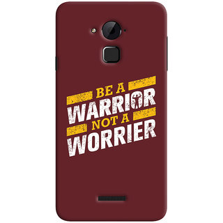 Oyehoye Coolpad Note 3 Lite Mobile Phone Back Cover With Motivational Quote - Durable Matte Finish Hard Plastic Slim Case