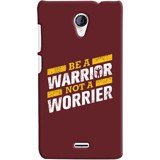 Oyehoye Micromax Unite 2 A106 Mobile Phone Back Cover With Motivational Quote - Durable Matte Finish Hard Plastic Slim Case