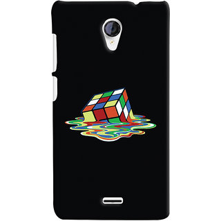 Oyehoye Micromax Unite 2 A106 Mobile Phone Back Cover With Modern Art Minimal Style - Durable Matte Finish Hard Plastic Slim Case