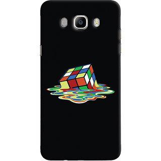 Oyehoye Samsung Galaxy J5 (2016) Mobile Phone Back Cover With Modern Art Minimal Style - Durable Matte Finish Hard Plastic Slim Case