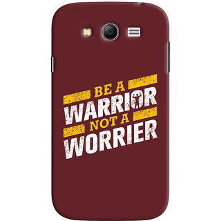 Oyehoye Samsung Galaxy Grand Neo Plus Mobile Phone Back Cover With Motivational Quote - Durable Matte Finish Hard Plastic Slim Case