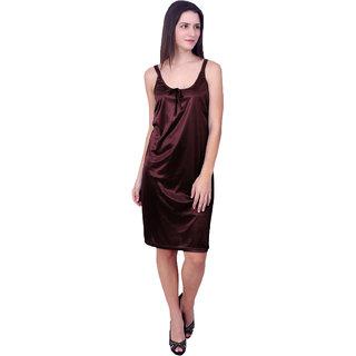 Buy You Forever Women s Solid Brown Nighties Online - Get 59% Off 750609ea3