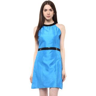 ATHENA Blue Sheath dress
