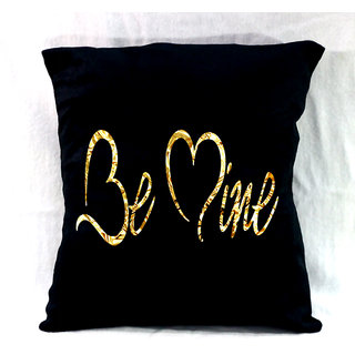 customised cushion with message