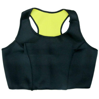 Gold Dust Sweating Body Shapers Slimming Sports Vest (S)